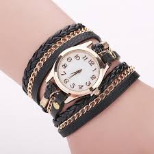 bracelet leather watches images Women bracelet leather watch jpg