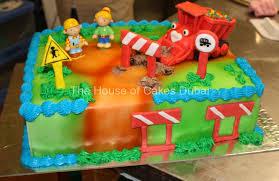 bob builder theme cake