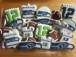 Seahawks Decorations Seattle Seahawks Cookies By Dyan The Cookie Jar Pinterest