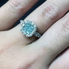 blue diamond wedding rings engagement and wedding rings at diamonds by raymond raymond