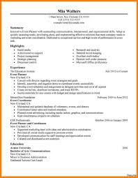 free sle resume template to fill in and print event coordinator resume for planner sle jpg 34a description