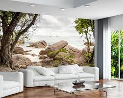 beibehang 3 d gobi desert stone tree background wallpaper living