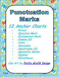 theme question definition this is a set of 12 anchor charts or posters for punctuation marks