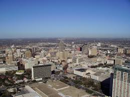 Six Flags San Antonio Zip Code San Antonio Tx And Charlotte Nc Metropolitan Size Skyline