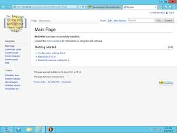 how to stand up a mediawiki on windows server 2012 10 easy steps