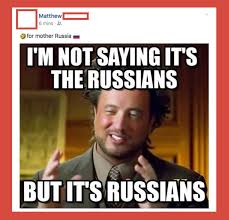 International Memes - malta quick to react hilariously to claims russians planted egrant