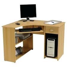 bureau informatique fermé meuble informatique design transparent bureau meub d