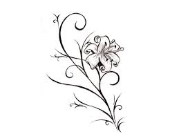flower galery design drawing ideas for