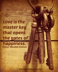 motivational wallpaper on happiness love is the master key that
