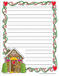 friendly letter writing paper gingerbread printable border paper with and without lines a to z gingerbread border paper narrow lined