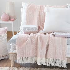 boho style home interiors ryana beige cotton jacquard print