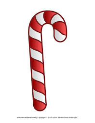 free candy cane template printables clip art clipartix