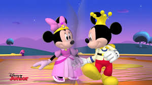 mickey mouse and minnie as prince and princess hd wallpaper
