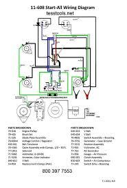 goodall 11 608 start all parts list wiring diagram schematic