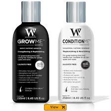 hair growth shampoo u0026 conditioner watermans hair growth set