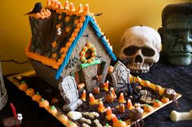 haunted halloween cookie house the pescetarian and the pig