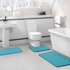 Memory Foam Bathroom Rug Set Vcny Byzantine 3 Pc Memory Foam Bath Rug Set Null