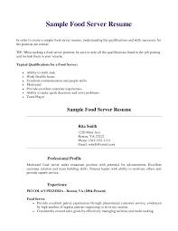 server resume examples 19 create my nardellidesign com