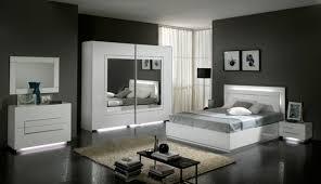 discount chambre a coucher lit city laque blanc chambre à coucher