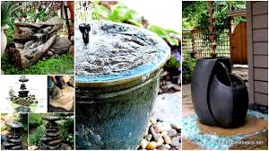 home decor wonderful backyard water features solar water