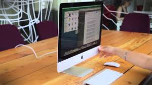 apple imac 21 5 inch 2014 hands on youtube