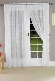 Patio Net Curtains by Curtains For Large Patio Doors Home Design Ideas