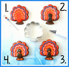 turkey sugar cookies how to make decorated turkey sugar cookies for thanksgiving fall