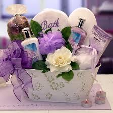 lavender gift basket elegance of lavender luxury spa gift basket at gift baskets etc