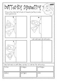 butterfly symmetry worksheet free worksheets library download