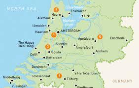 netherlands map map of the netherlands netherlands regions guides
