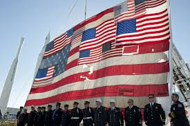 What The Us Flag Represents Kennedy Adds Florida Touch To 9 11 Flag Nasa