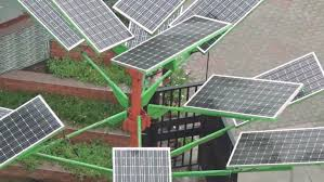 indian scientists design solar tree to save space for solar power