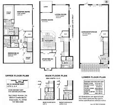 Luxury Townhomes Floor Plans Sunketch Homes