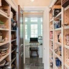 beautiful walk in pantry interior designs with natural timber