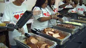 salvation army golden corral serve 20k thanksgiving meals in