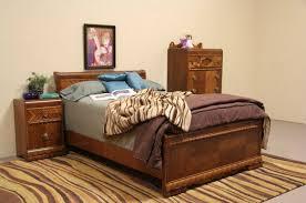 Art Deco Bedroom Furniture Sold Art Deco 1935 Waterfall Full Size 3 Pc Bedroom Set Harp