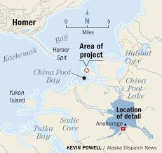 Homer Alaska Map by Some In Homer Fret Over Tentative Plan For A New Lodge In A Quiet