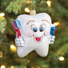 happy tooth glass ornament blessed smile dentistry ofmissionviejo