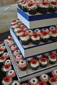 wedding cupcake towers by the cake zone the cake zone