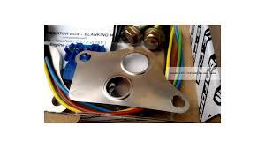 opel vauxhall emulator simulator box blanking plate kit z22se 2 2 16v opel