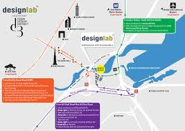 Dubai On Map Contact Us Designlab