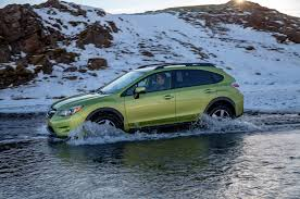 subaru xv green 2014 subaru xv crosstrek hybrid review automobile magazine