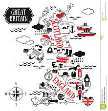 England Maps by England Map Stock Vector Image 51915704