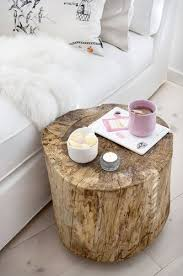 How To Make A Tree Stump End Table by Best 25 Tree Trunk Table Ideas On Pinterest Tree Trunk Coffee