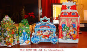 viewing a thread christmas new year russian gift boxes