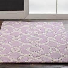 ornamental iron trellis plush rug shades of light