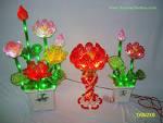 Toàn Quốc - đèn <b>hoa</b> sen <b>pha lê</b> nhân tạo - đèn sen để bàn thờ chánh <b>...</b>