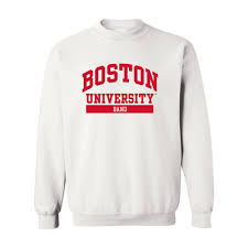 barnes u0026 noble boston university bookstore band crew neck