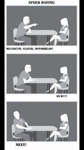 Speed Dating Meme - metal speed dating meme