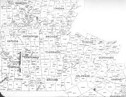 New York State Map Townmprs And Map New York State Towns World Maps